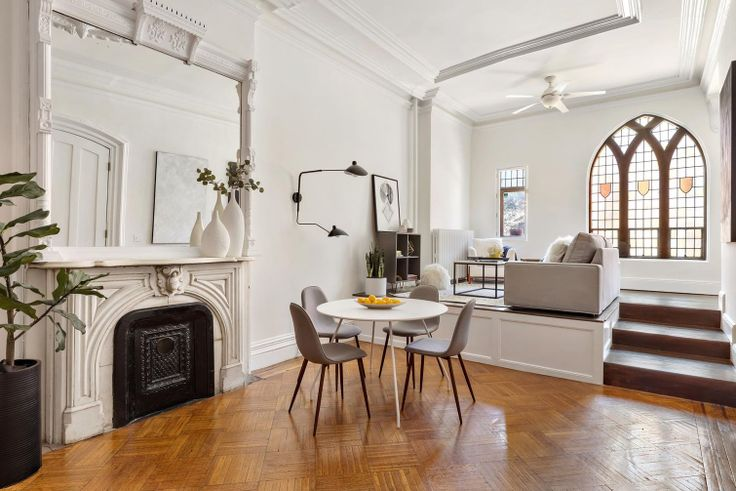 In condos and co-ops, fees are generally set based on the size of the apartment. (132 West 71st Street via Compass)