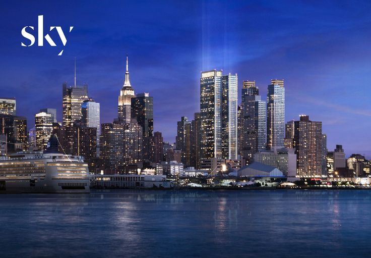 Sky, located on 42nd Street & 11th Avenue, is the largest rental building in Manhattan. The building is offering one month of free rent.