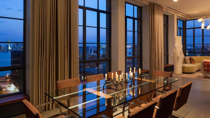 New york city luxury condos cityrealty for Dining room 56 willoughby street
