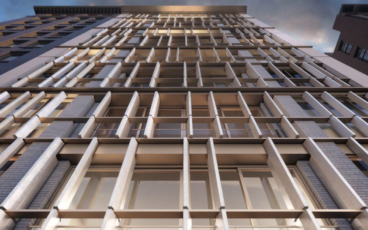 One Great Jones Alley will boast a facade decorated with terra cotta fins.