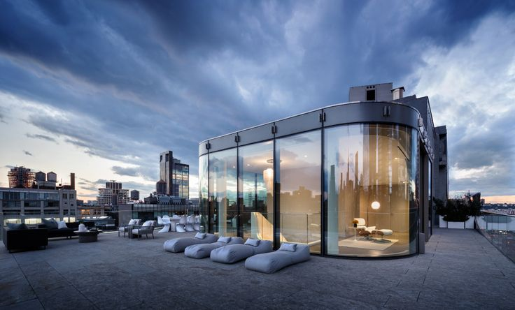 520 West 28th Street penthouse via The Corcoran Group