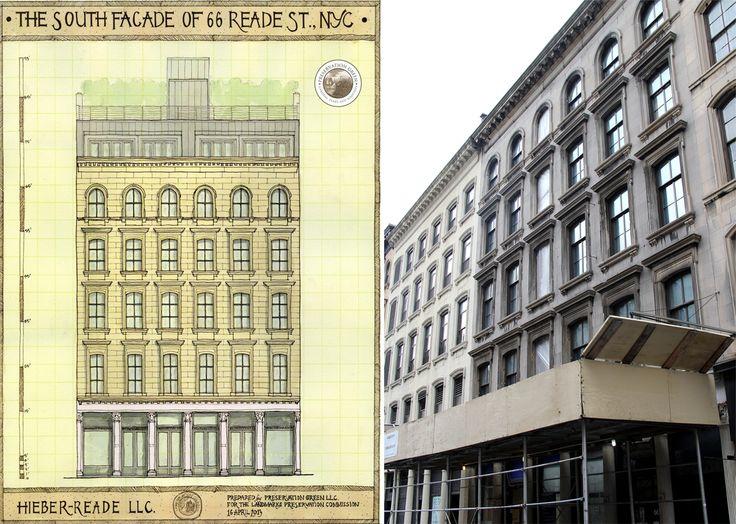 Tribeca's 66-68 Reade Street; Source: Preservation Green L.L.C