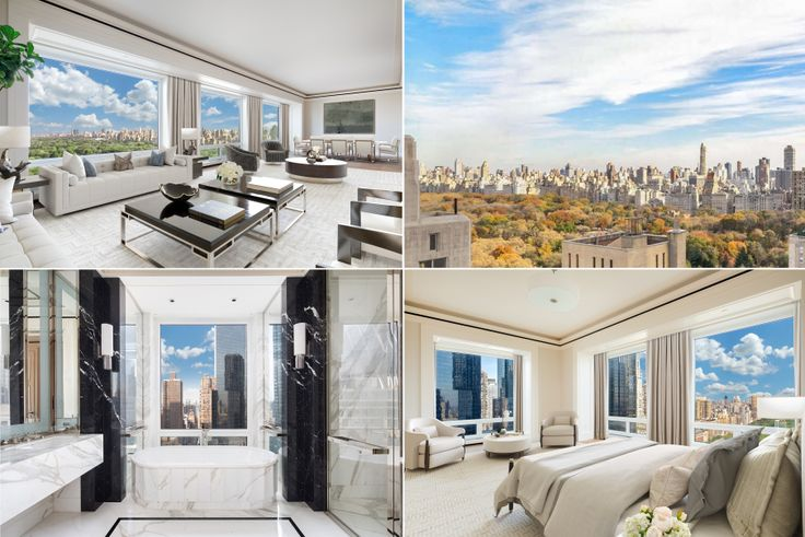 Listing at 220 Central Park South via Corcoran