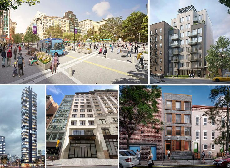A selection of some of the most exciting renderings planned for New York