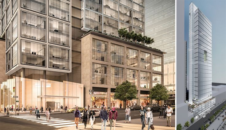 601 West 29th Street and 606 West 30th Street  (Credit: FXCollaborative and ILA)