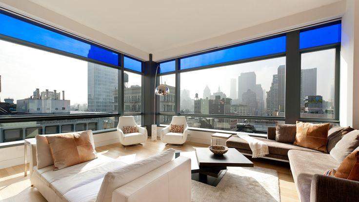 Living Room, 40 Mercer Street, Condo, Manhattan, NYC