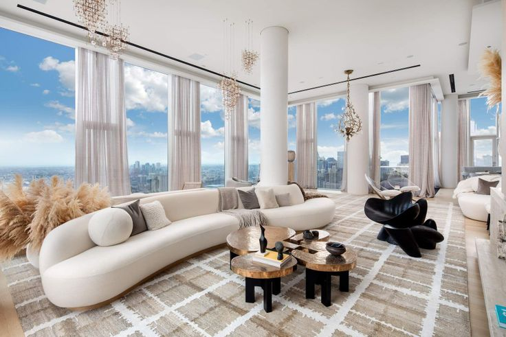 56 Leonard penthouse via Douglas Elliman