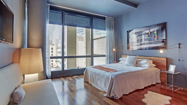 Bedroom, 101 Warren Street, Condo, Manhattan, NYC