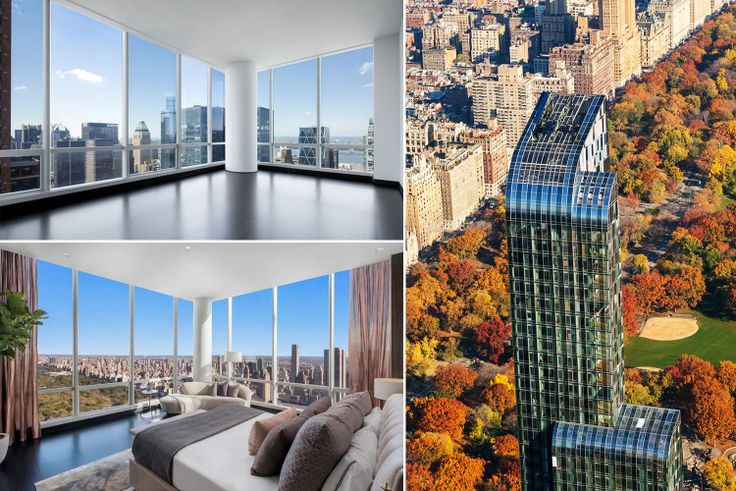 One57 accounts for three of the top five luxury contract signings in Manhattan (Photos via Extell Development)