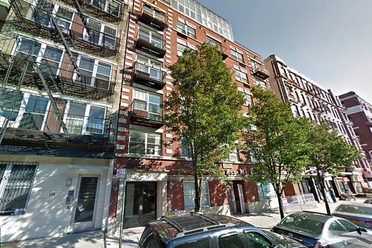 Rivington House at 114 Ridge Street on the Lower East Side is currently leasing with 1 month of free rent. (Google Street View)