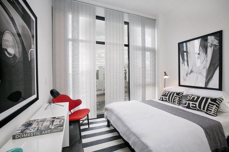 Model bedroom at 179 Woodpoint Road, Photos courtesy of The InHouse Group