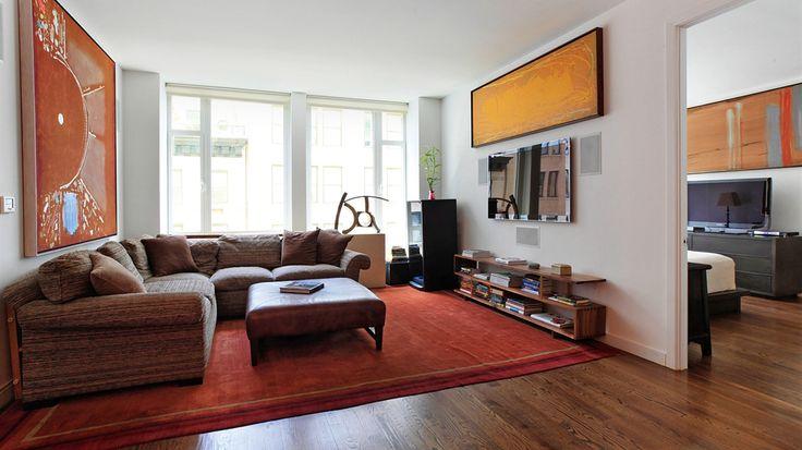 Living Room, 133 West 22nd Street, Condo, Manhattan, NYC