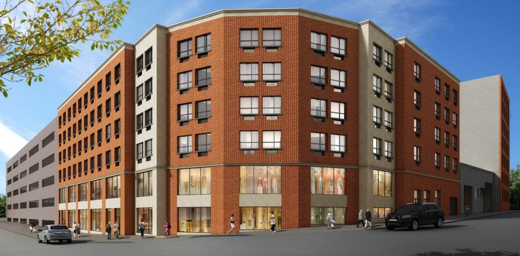 The mixed-use development under construction at 5959 Broadway in the Bronx will bring 72 apartments to the market. While most are expected to be market rate, some may be dedicated to affordable housing.