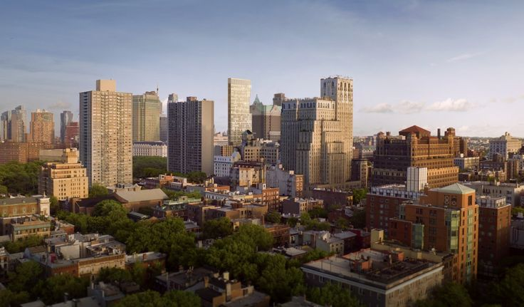Looking over Brooklyn Heights to One Clinton; Credit: Marvel Architects