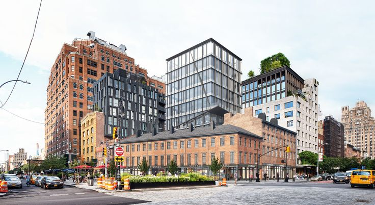 New office towers proposed in the Meatpacking District (Credit: BKSK Architects)
