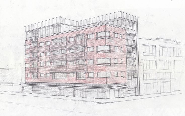 322 Gates Avenue will bring 28 no-fee residences to Bed-Stuy (Image via Z Architecture)