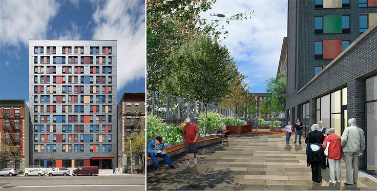 Boston Road, a new residential building designed by Alexander Gorlin Architects.