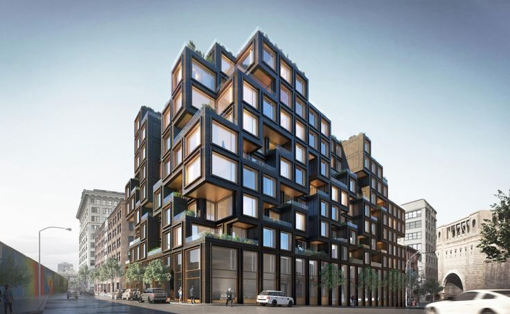 Rendering of 80 Adams Street via ODA Architecture