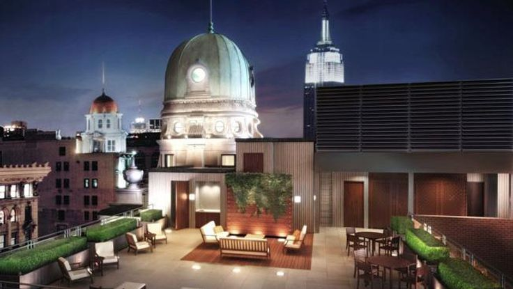 Terrace, 141 Fifth Avenue, Condo, Manhattan, NYC