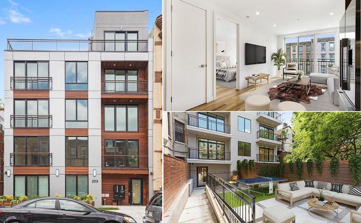 All images of 203 Quincy Street via Douglas Elliman