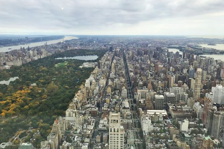 View from the 71st floor of 432 Park Avenue (Photo via Brown Harris Stevens)