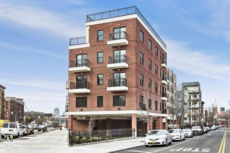 The newly constructed rental building at 460 Grand Street in Williamsburg (All images via Citi Habitats)