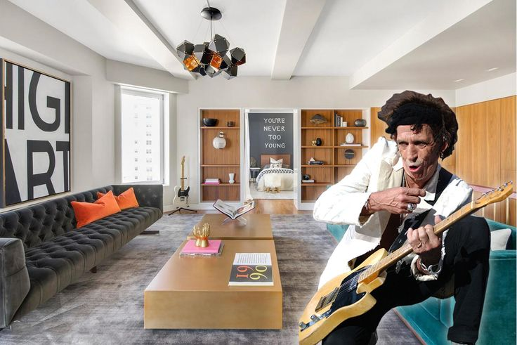 Keith Richards and 1 Fifth Avenue, penthouse