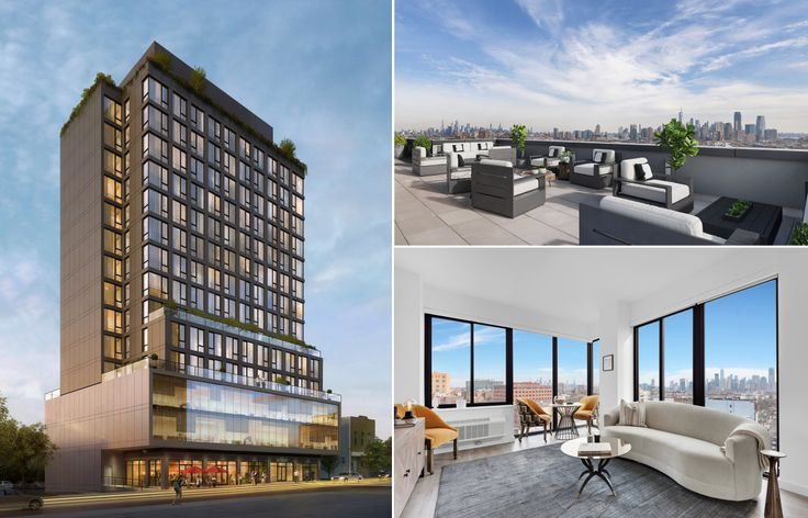 MRK is a sleek new rental building in Jersey City's popular Journal Square neighborhood with amenities attuned to needs of younger generations