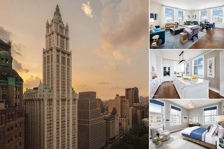 The Woolworth Building (Images courtesy of Alchemy Properties via Sotheby's)