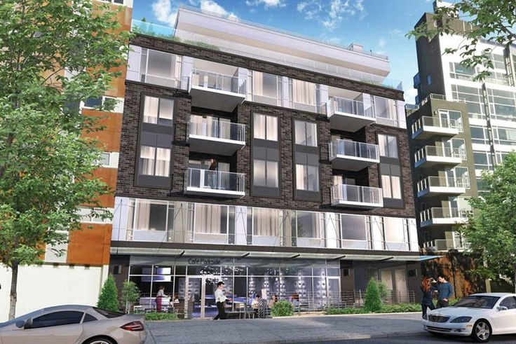 Rendering of 544 on the Park at 544 Manhattan Avenue in Greenpoint, Brooklyn (Image via Karl Fisher Architect)