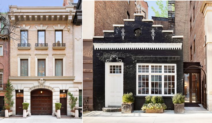 163 East 70th Street and 78 Irving Place are among two carriage house for sale in Manhattan