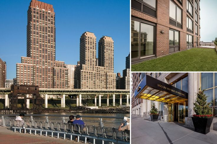 180 Riverside Boulevard on the Upper West Side (Images via Equity Residential)