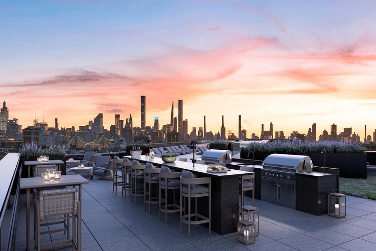 Astor LIC rooftop via The Corcoran Group