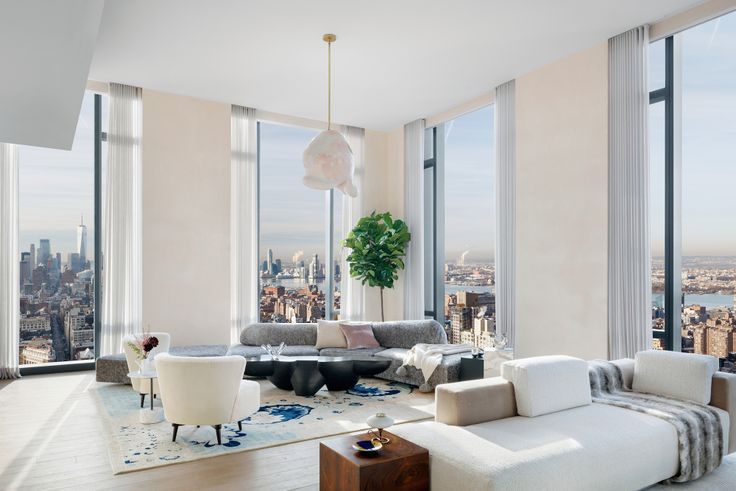 Living room at 277 Fifth Avenue (Corcoran)