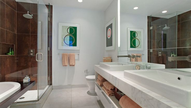 Bathroom, 133 West 22nd Street, Condo, Manhattan, NYC