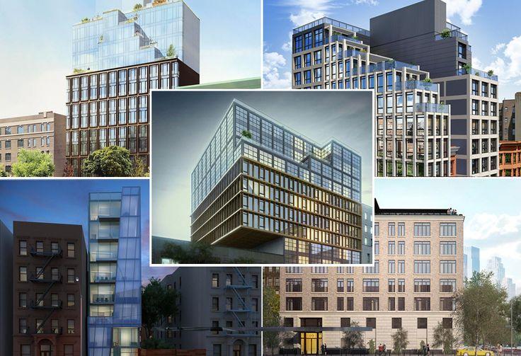 Compilation of a few new Harlem developments