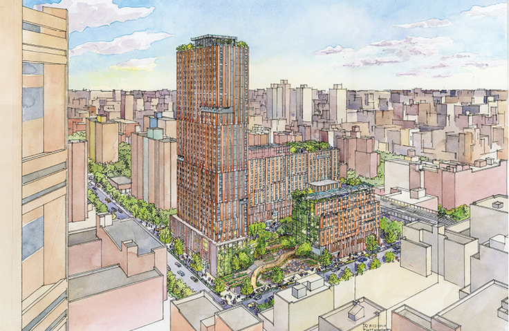 Sendero Verde - 1683-1691 Madison Avenue (Handel Architects)