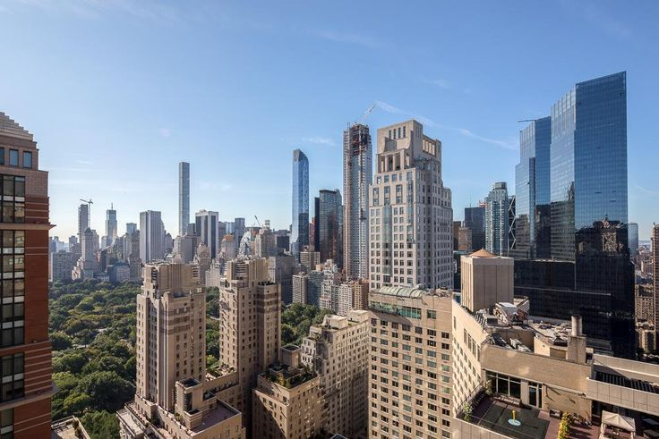 Views of Central Park as seen fromOne Lincoln Plaza (Douglas Elliman)
