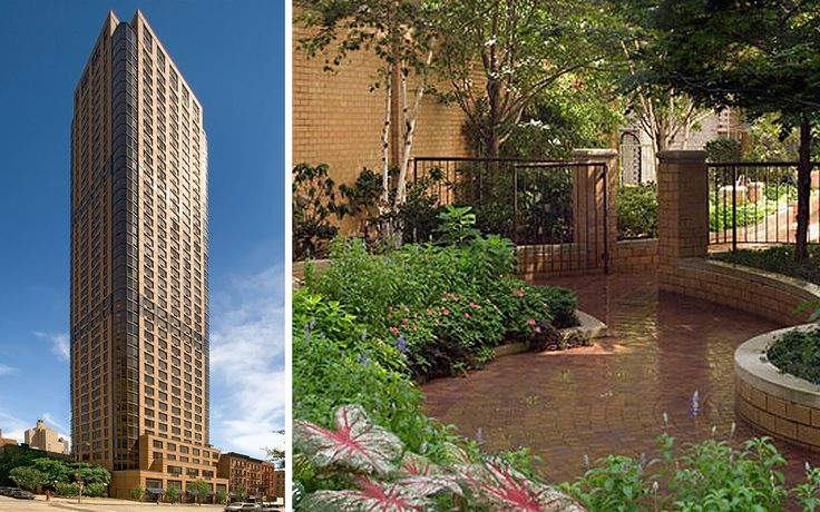 The Strathmore at 400 East 84th Street features a gorgeous outdoor garden.