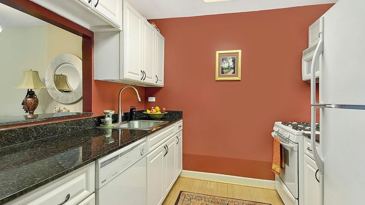 Kitchen, 1400 on Fifth, Condo, Manhattan, NYC