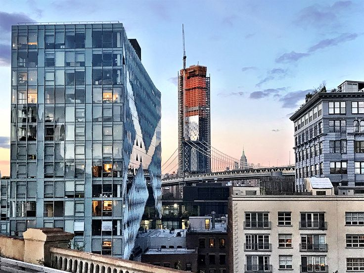 One Manhattan Square as seen from the Brooklyn Bridge (Photo: CityRealty)