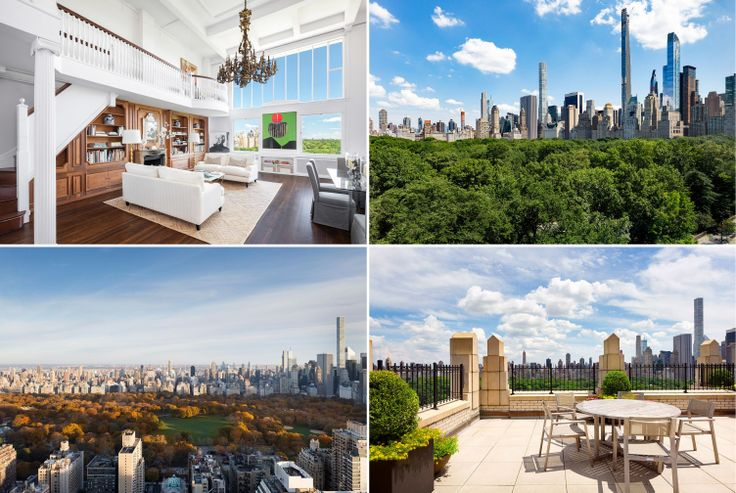 Apartments and views looking onto New York City's most cherished green space