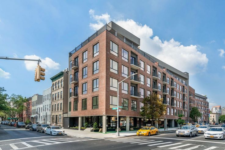 The new development at 215 and 216 Freeman Street in Greenpoint (Image via EXR)