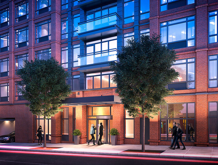 A rendering of 181 Front Street (Image via 181front.com)