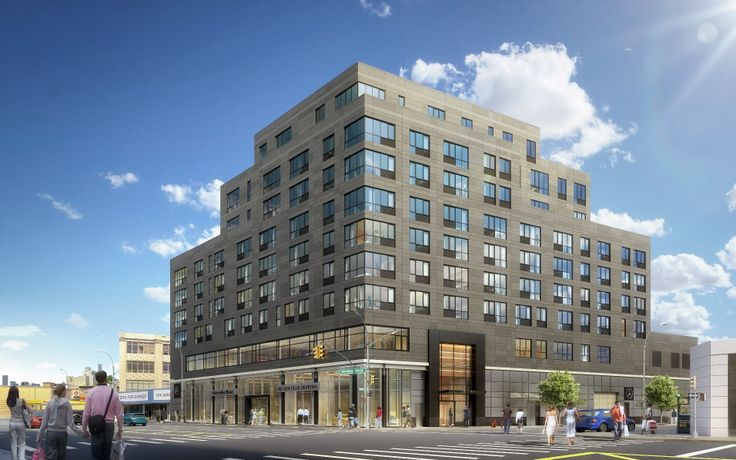 Rendering of The Silver Star in Long Island City, via thesilverstarlic.com
