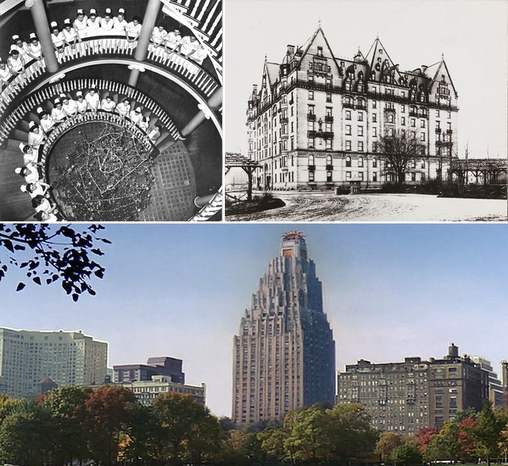 The Octago, The Dakota, and a transformed 55 Central Park West