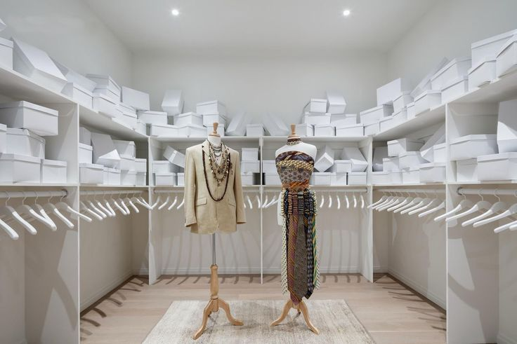 A closet big enough to hold all manner of purchases is a gift in and of itself. (277 Fifth Avenue via The Corcoran Group)