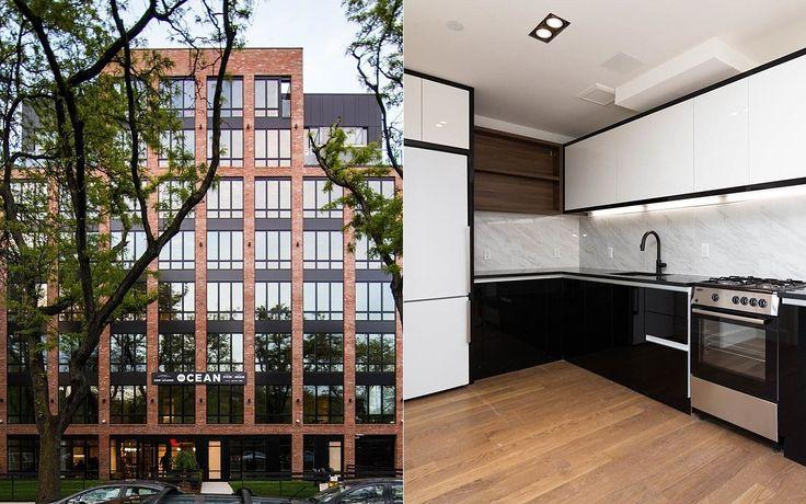 The new 8-story rental building at 581 Ocean Parkway in Kensington, Brooklyn. (Image via Nooklyn)