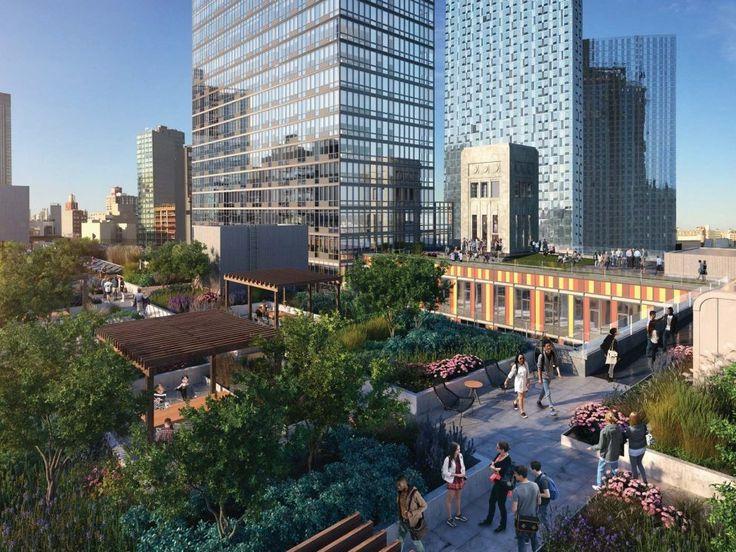Eagle Lofts at 43-22 Queens Street via SLCE, Slade Architecture, Matthew Nielsen Landscape Architecture