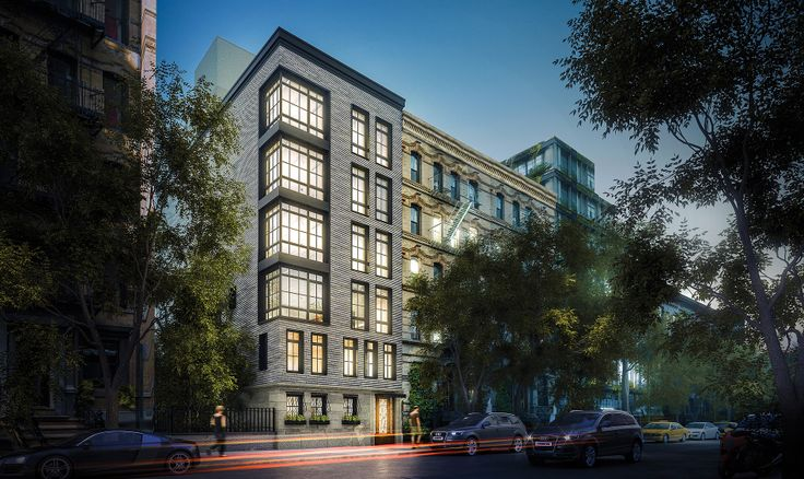 A rendering of 253 East 7th Street in the East Village (Image via BDS Realty)